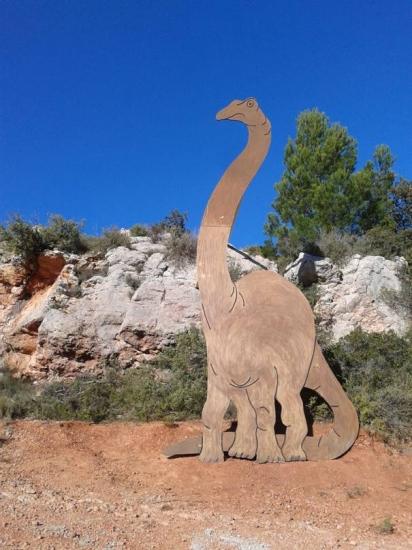 Dinosaure à Albas