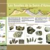 Panneau Fossiles de la Serre d'Azeu